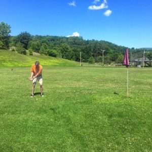 Don't Let Tall Grass Slow Down Swing Momentum